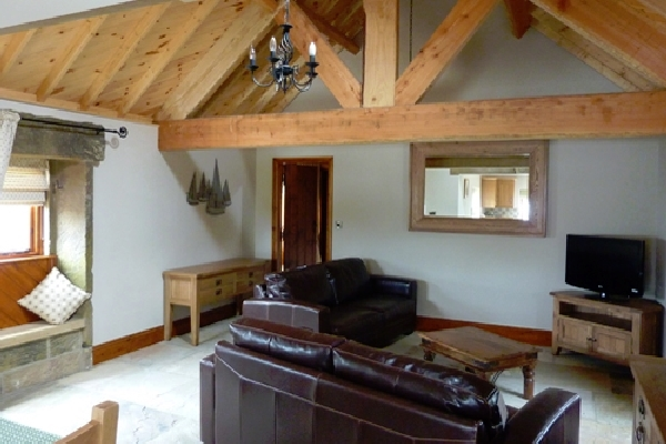 Stable Cottage living room