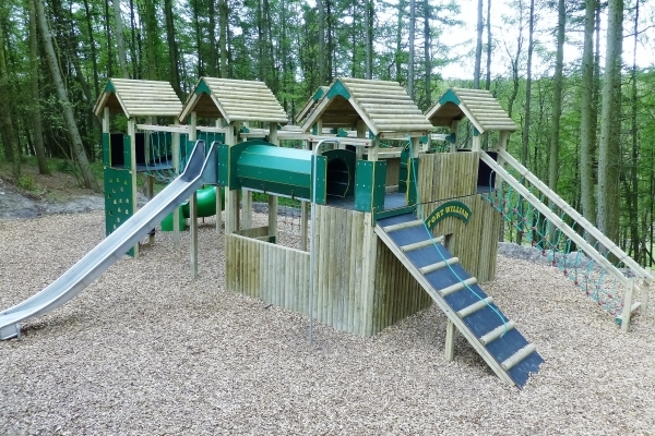 Play Area at Grouse Hill Camping and Glamping